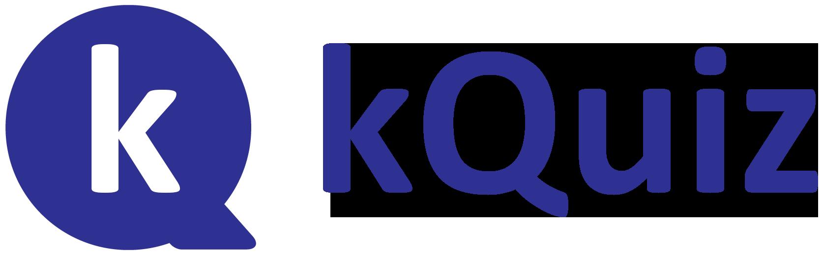 kQuiz Logo